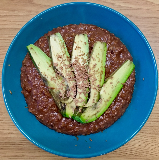 Cocoa Avocado Porridge