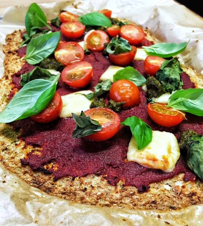 Cauliflower-Base Pizza